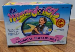 Vintage 1988 Dorothy The Wizard of Oz Musical Jewelry Box *NEW IN BOX* WORKS*