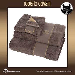 ROBERTO CAVALLI HOME   GOLD   Set terry towel or bath sheet