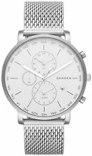Men's Skagen World Time And Alarm Steel Strap Watch SKW6301