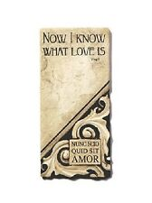 "Harmony Plaques - ""Now I Know What Love Is"" - #RKP-HP-10440"