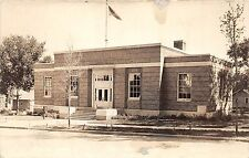 B4/ Sac City Iowa Ia Real Photo RPPC Postcard Post Office Building