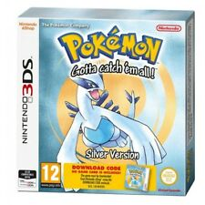 Pokemon Silver Packaged Download Code Nintendo 3ds Game