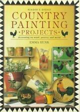 Country Painting Projects : Decorating on Wood, Pottery, and Metal by Emma...