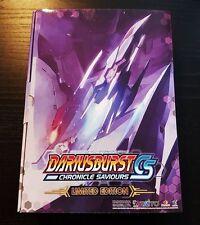 PS4 Darius Burst CS shmups Limited Box JAPAN with OST Playstation 4