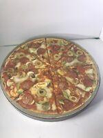 Springbok Circular Jigsaw Puzzle Pizza 500+ pieces 20 3/8 diameter See Desc.
