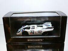 MINICHAMPS 716122 PORSCHE 9117K 24h WINNER LE MANS 1971 - van LENNEP - EXCELLENT