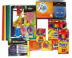 Back to School Supplies Bundle for Pre-K, Kindergarten, 1st Grade 2nd Grade, 3rd