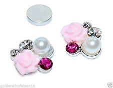 Handgefertigte Ohrschmuck aus Echtschmuck im Ohrstecker-Stil für Damen