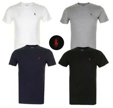 Polo Ralph Lauren Men's T Shirt Crew Neck Slim Fit Short Sleeve Logo Tee Shirt