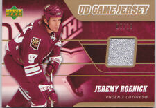 06-07 Upper Deck Jeremy Roenick /15 UD Game PATCH Coyotes 2006