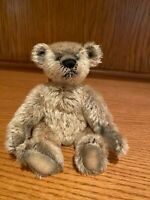 8 Inch Mohair Teddy Bear by Kim Hunt of Kimberly's Originals
