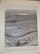Photo article grouse moor Upper Middledale moor Yorkshire 1928 ref Y2