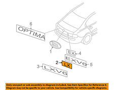 KIA OEM 06-08 Optima Trunk Lid-Emblem Badge Nameplate 863142G100