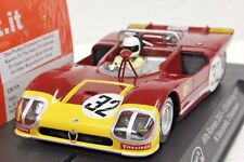 SLOT IT SICA11H ALFA ROMEO 33/3 SEBRING 1971 NEW EVO6 1/32 SLOT CAR