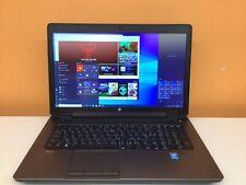HP ZBOOK 17 Core I5-4340M 2.90Ghz 16gb Ram 512GB SSD 500GB HDD Win 10 Pro  64bit