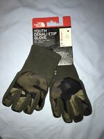 NWT M & L Youth The North Face Denali Etip Gloves