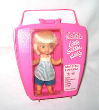 Remco Heidi's Little Sister Hildy Pocketbook Doll - 4100 - pink box
