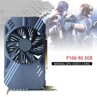 P106-90 3GB GDDR5 Video Card Mining GPU GTX1060 PCI E 3.0 US