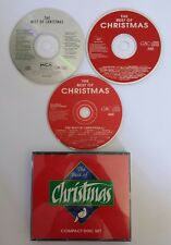 THE BEST OF CHRISTMAS Various Artists: Bing Crosby, Dean Martin, etc. (3 CD Set)