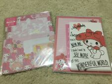 NIP My Melody letter sets hello kitty Sanrio New