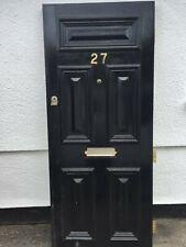 Victorian wooden front door