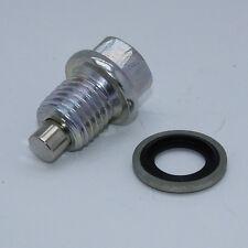 Magnetic Oil Sump Drain Plug fits Yamaha 90340-12059-00 XT250 Majesty (PSR0103)