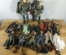 Lot of Lord of The Rings LOTR Action Figures + Accessories