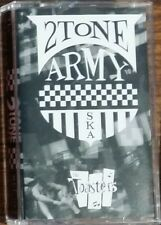 The Toasters 2 TONE ARMY Limited Edition CSD 2017 New White Cassette Tape