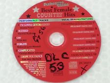 Performer's Choice Karaoke Disc PC0003 Female Country Hits CD+G by Sound Choice