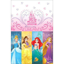 Niñas Princesa Rosa Fiesta Cumpleaños Mantel 182cm X 137cm.