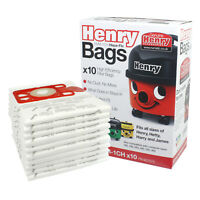 Genuine Numatic HENRY Vacuum Hoover Bags Hetty Homecare Hepa Flo Bag