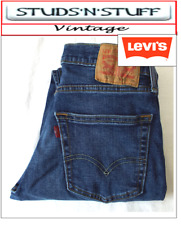 """VINTAGE LEVIS 502'S REGULAR TAPERED JEANS  W29"""" L29"""" APROX SIZE UK 8 / 10 (T502)"""