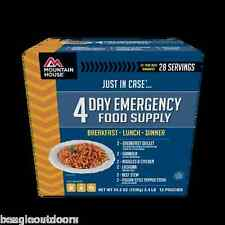 Mountain House Just In Case 4-Day Breakfast Lunch Dinner Freeze Dried Meal Kit