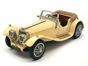 Franklin Mint 1/24 Scale Model Car 1907 Rolls Royce The Silver Ghost VGC