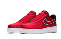 Nike Air Force 1 '07 LV8 University Red White Black CD0886-600 Men's Shoes NEW