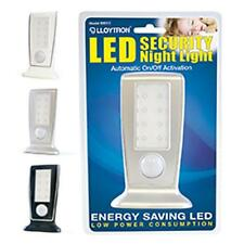 Lloytron B9312 Long-Life LED Security Night Light Wall Mounted or Free Standing