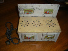 "Vintage Marx ""Little Orphan Annie"" Tin Electric Stove"