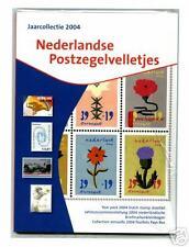 Officiele TNT jaarcollectie Ned postzegelvelletjes 2004