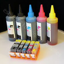 Refillable CARTRIDGE & ink for CANON Pixma MG5320 iX6520 IP4920 MX882 MG5220