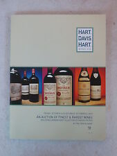 AN AUCTION OF FINEST AND RAREST WINES Hart Davis Hart Wine Co. 2007