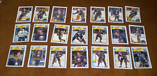 1987-88 & 1988-89 OPC BUFFALO SABRES TEAM SETS