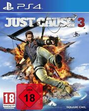 Just Cause 3 Day One Edition Incl. DLC-ps4 PLAYSTATION 4 GIOCO-NUOVO OVP