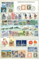 A132889/ MONACO STAMPS – COMPLETE YEAR 1992 – MINT MNH – FACE VALUE 44 Euros