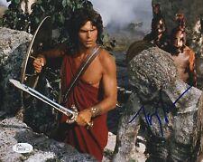 Harry Hamlin In-Person Signed 8x10 Photo w/ JSA COA #P80558 Clash of the Titans