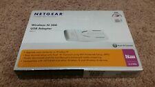 Netgear Wireless N 300 USB Adapter