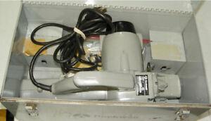Rockwell heavy Duty Porta-Plane Model 126 Works Excellent w Metal Case