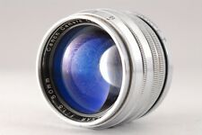 【Rare!!】 Canon 50mm f/1.5 SERENAR Rangefinder MF Lens for Leica L39 Screw #2236
