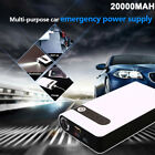 20000mah Jump Starter Car Battery Charger Power Bank Booster Light 12v Portable