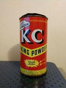 Vintage Magic Baking Powder Advertising Tin Can Full Free USA Shipping