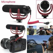 GO On-Camera Shotgun Microphone for Camera T4M2 Canon Nikon DSLR